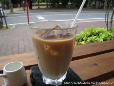 Cafe shibaken◇カフェオレ