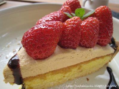 Cafe shibaken◇苺のタルト