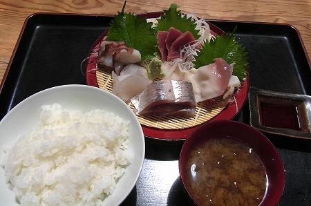 刺身定食(五点盛り)