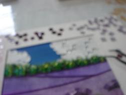 『 Lavender 』 制作途中
