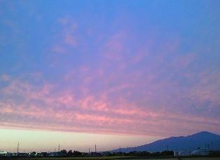 夕焼け2009.9.30