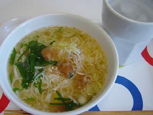 梅とシソの煮麺★★★星3つ