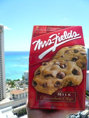 Mrs.Fieldsのクッキー