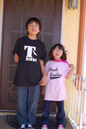 KE_BLK&Pink Tshirts