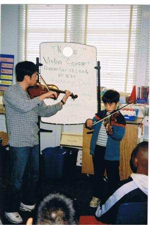 K&DadViolinConcertSchool