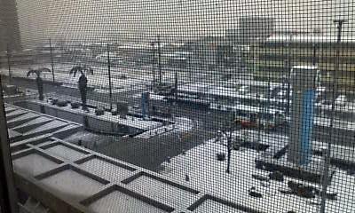 雪が降る①
