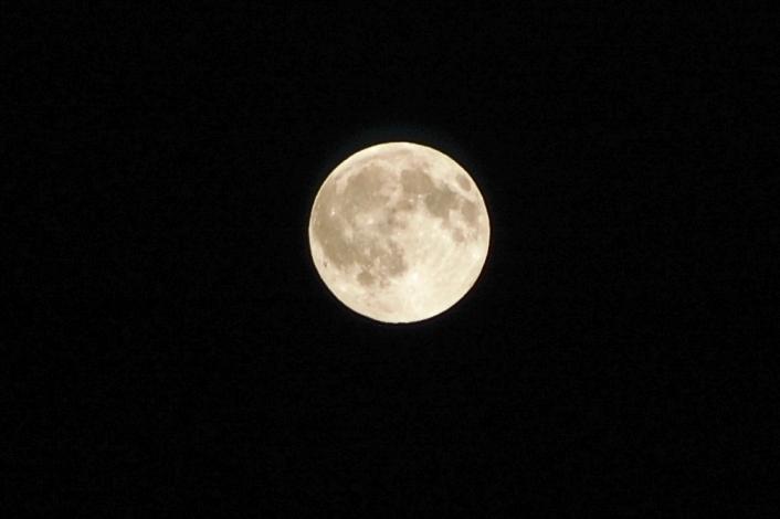 満月inオレゴン