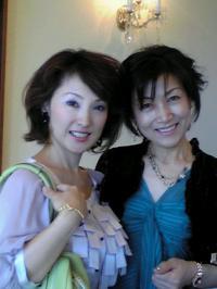 祝賀会 弘子さんと