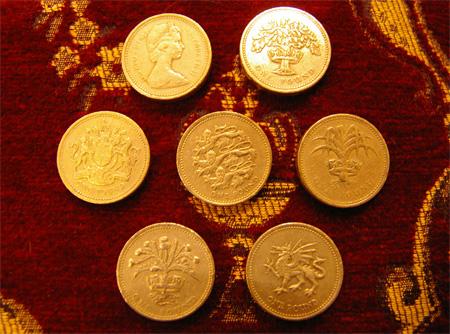 1ポンド硬貨