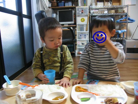 K君と夕ご飯(^-;^)