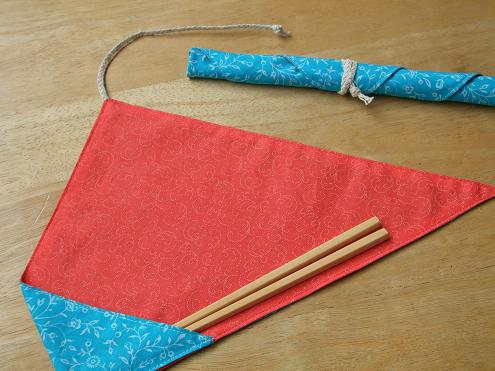 箸袋(青)(小)