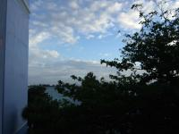 朝早くから見た外の景色