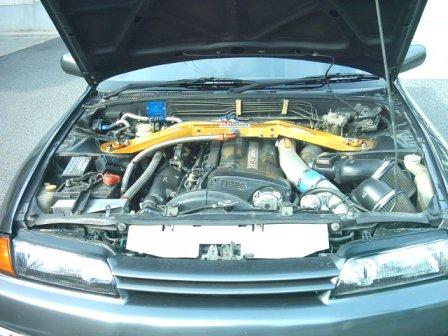 GT-Rエンジンルーム