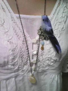 鳥さんネックレス