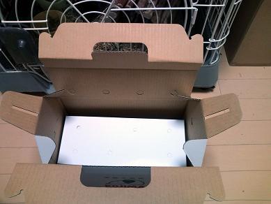 二重に箱詰めされて来ました