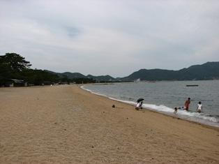 松林ビーチ