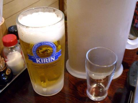 さんきらく・生ビール