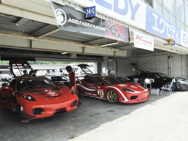 03レースフェラーリー04
