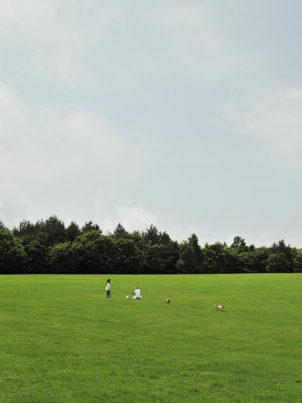 三瓶山の公園