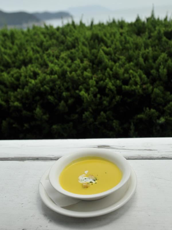 06カボチャの冷製スープ