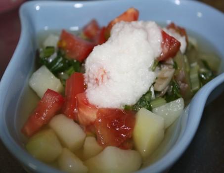 お芋と野菜のスープ