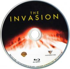 Blu-ray The Invasion Disc