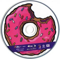 Blu-ray The Simpsons Movie Disc