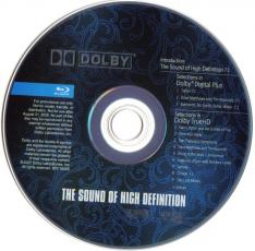 THE SOUND OF HIGH DEFINITION BD Disc