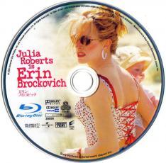 Blu-ray Erin Brockovich Disc