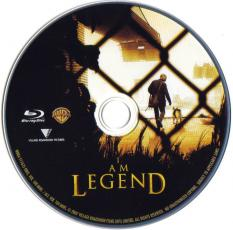 Blu-ray I AM LEGEND Disc
