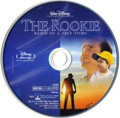 Blu-ray The Rookie Disc