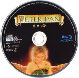 Blu-ray Peter Pan Disc