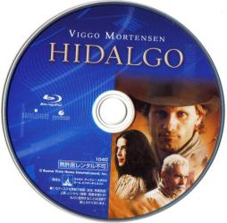 Blu-ray HIDALGO Disc