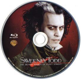 Blu-rau Sweeny Todd Disc