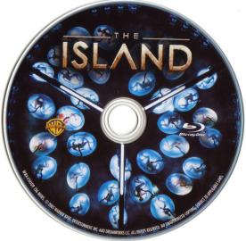 Blu-ray THE ISLAND Disc