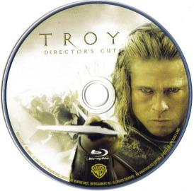 Blu-ray TROY Director's Cut Disc