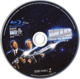 Blu-rau MEN IN BLACK Disc