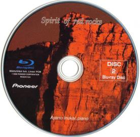 Blu-ray Spirit of red rocks Disc-1