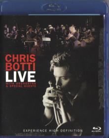 Blu-ray CHRIS BOTTI LIVE with Orchestra&Special Guests