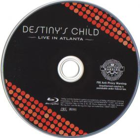 Blu-ray DESTINY'S CHILD Live in Atlanta Disc