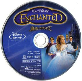 Blu-ray ENCHANTED Disc