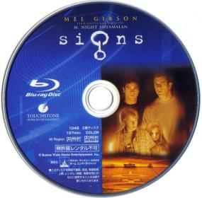 Blu-ray Signs Disc