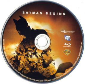 Blu-ray Batman Begins Disc