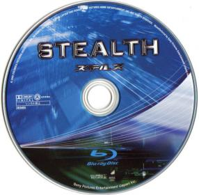 Blu-ray STEALTH Disc