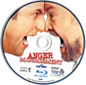 Blu-rau ANGER MANAGEMENT Disc