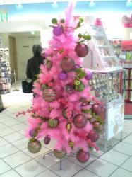 可愛いピンクのツリー