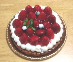 苺のタルトケーキ