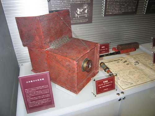 日本最古のカメラ