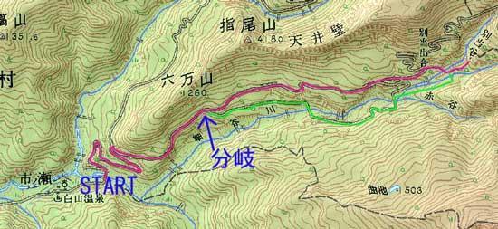 市ノ瀬からの地図1