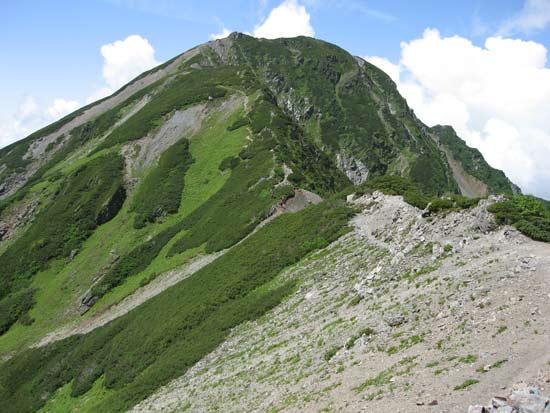 塩見岳東峰